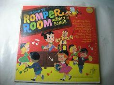 Vintage Romper Room Activity Songs Vinyl Record Lp VG Lp Vinyl, Vinyl Records, Romper Room, Stuff To Do, Things That Bounce, Rompers, Songs, Activities, Tv