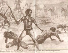 October marks the anniversary of the terrible Pinjarra massacre, a grim day… Aboriginal History, Aboriginal People, White Settlers, Dark Swan, Coloured People, African History, First Nations, Western Australia, Survival