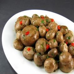 Italian Marinated Mushroom Recipe | Italian Marinated Mushrooms Recipe - Food.com - 169297