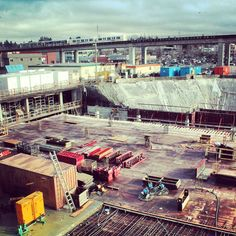 3 Civic Plaza site in its initial stages