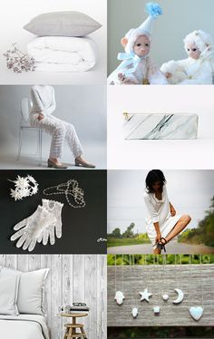 Dreams in White by Angela on Etsy--Pinned with TreasuryPin.com
