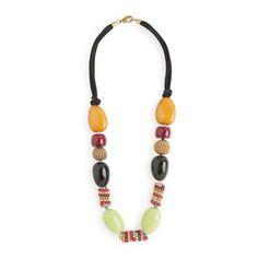COLLAR PIEDRAS VARIADO #accessories #covetme
