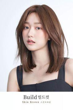New Haircut For Long Hair Korean Ideas hair haircut 702491241860926088 Korean Hair Color Brown, Hair Color Asian, Brown Hair For Asian, Medium Hair Cuts, Medium Hair Styles, Long Hair Styles, Medium Curls, Haircuts For Long Hair, Hairstyles Haircuts