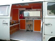Mon Combi vw -  - Vous aménagé un camion en camping-car