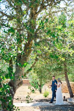 Olive grove mediterranean wedding ibiza foto by Ana Lui
