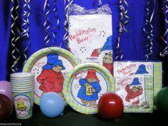 1 Paddington Bear Party Supply You Choose 1 or More Party Supplies