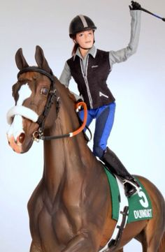 Drastic Custom Model Horse Resin Breyer Peter Stone Chestnut Race Tack