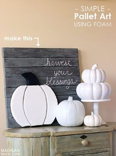 Check out Pallet Project Ideas for Fall at http://pioneersettler.com/pallet-project-ideas-fall/