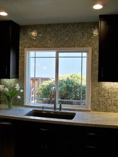 backsplash like the trim around the window this would really work around my 2 kitchen windows on kitchen cabinets around window id=99066