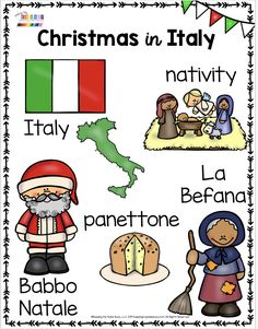 Keeping My Kiddo Busy CHRISTMAS IN ITALY – La Befana – St. Nicholas – try free printables and activities to learn all about Christmas Around the World – kindergarten and first grade – Christmas in Germany – Christmas in Mexico – Christmas in Italy Around The World Theme, Celebration Around The World, Holidays Around The World, Around The Worlds, Mexico Christmas, Christmas In Germany, Christmas In Italy, About Christmas, Preschool Christmas