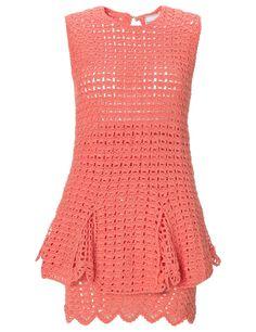 Coral Crochet Chic Chic Dress Michaela Buerger