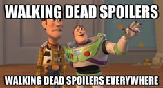 """The Walking dead"""" is in fact """"Toy Story"""" ?"""