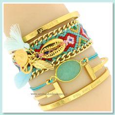 ♡ ARMCANDY INSPIRATION ! ♡ Hoe leuk is deze combi ?! Let's (ARM)PARTY !! www.armbandonlinekopen.nl
