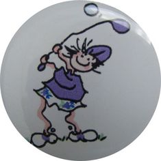 Check out our Purple Swinging Golf Gals BOG Ball Marker & Shiny Nickel Visor Clip! Find the best golf gear and accessories at Lori's Golf Shoppe. Click through now to see this!