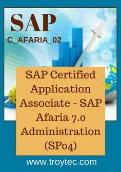 Get unlimted ACCESS to wealth of Knowledge #SAP Certified #Application Associate - SAP Afaria 7.0 #Administration (SP04) Exam #Code- C_AFARIA_02 Visit@: https://www.troytec.com/C_AFARIA_02-exams.html