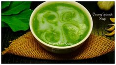 Spinach is a nutritious leafy vegetable it is rich in iron and other minerals, so everyone must incorporate it in their diet.  This healthy and delicious spinach soup is easy to prepare. Let's make this healthy and mouth-watering Spinach Soup today.