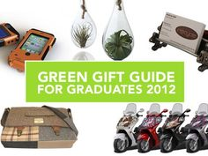 Green Gift Guide: For the Graduate