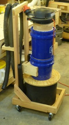 Shop Vac with Separator - Small Footprint