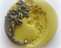 Cherub Victorian Mold Gothic Jewelry DIY Resin by WhysperFairy Resin Molds, Silicone Molds, Victorian Valentines, Scented Wax Melts, Resin Charms, Fondant Molds, Wing Earrings, Gothic Jewelry, Boho Jewelry