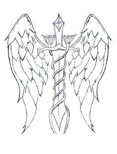 st michael tattoo design - Google Search