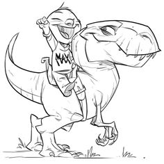 Thinking of coloring this up and putting it on the wall for baby Max's #dinosaur themed nursery