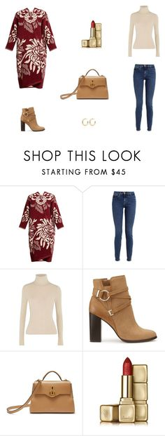 """""""Untitled #9515"""" by mie-miemie ❤ liked on Polyvore featuring Marit Ilison, Calvin Klein, Alice + Olivia, Miss Selfridge, Mulberry, Guerlain and Kenneth Jay Lane"""