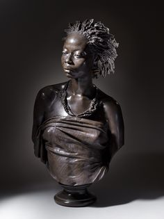 Charles Cordier, African Venus, 1851, bronze, collection of Lynda and Stewart Resnick