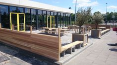 Terras.  Project Leovardia   Youngwoods.nl