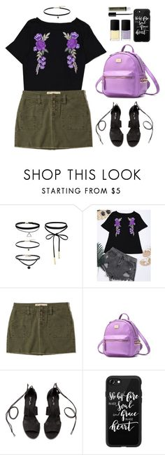 """""""Untitled #616"""" by justkejti ❤ liked on Polyvore featuring Hollister Co., Casetify, NYX, vintage, casual, floralprint, casualoutfit and zaful"""
