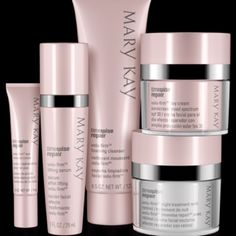 TimeWise Repair Volu-Firm Set Summer Sale!! Mary Kay TimeWise Repair Volu-Firm Set can help restore what was lost and lift away the years with this scientifically innovative regimen that proves it's never too late to help rescue skin from the damage of the past and recapture a vision of youthfulness. Reduce the look of fine lines and wrinkles, recapture youthful volume, even skin tone, and replenish moisture. Includes foaming cleanser, lifting serum, day cream, night treatment with retinol…