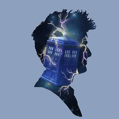 Doctor Who Traveling Tardis, Redbubble, art, Tee's, Stickers.