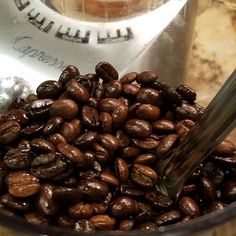 Who has time for mediocre coffee!? In my travels, I look for local roasters and I have an amazing collection of incredible varieties. Nothing can beat the flavors and aromas of freshly ground beans.