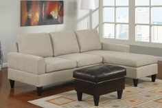 One of the furniture sets in the living room to add comfort is the Sofa bed sectional design. The existence of this sofa with moreover sleeper Small Sectional Couch, Cozy Sofa, Sofa Couch, Small Sofa, Sofa Set, Cheap Couch, Cheap Sofas, Sofas For Small Spaces, Small Living Rooms