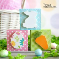 The Wood Connection - Easter Block Trio, $4.50 (http://thewoodconnection.com/easter-block-trio/)