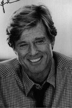 La sonrisa de Robert Redford.