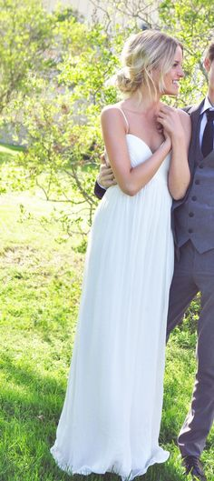 """""""For bridesmaids"""" dream wedding dress... everytime I see it I love it :) thats why Ive pinned it like three times :)"""