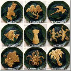 Pancake art. Love the geckos!