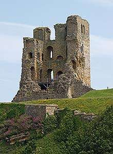 The Great Tower at Scarborough Castle, which suffered an intense bombardmnet during the Civil War Scarborough England, Scarborough Castle, Scarborough Fair, Days Out In Yorkshire, North Yorkshire, Visit Yorkshire, Castle Ruins, Medieval Castle, Victorian Greenhouses