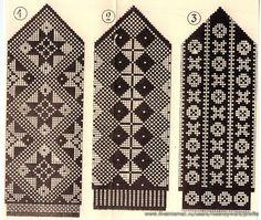 Krāsaini cimdu raksti - Rokdarbu grāmatas un dažādas shēmas — draugiem. Knitting Charts, Knitting Stitches, Knitting Socks, Knitting Patterns, Knitted Mittens Pattern, Crochet Mittens, Weaving Patterns, Craft Patterns, Ethnic Patterns