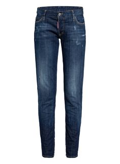 Destroyed Jeans, Dsquared2, Skinny Jeans, Pants, Dark, Products, Fashion, Cotton, Trouser Pants