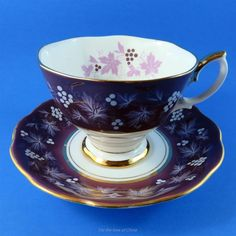 Royal Albert Chateau Series Rouen Tea Cup and Saucer Set | Pottery & Glass, Pottery & China, China & Dinnerware | eBay!