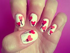 http://www.miascollection.com   Valentine's Day Nail Art #valentines day,  photography  bags,  #cute  #sweet,  #red