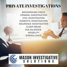 Call us at 800-653-1128 or email info@masoninvestigations.com for a free consultation.