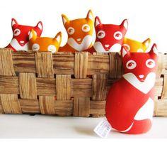 Paapii Fox Family | Funky Kitsch