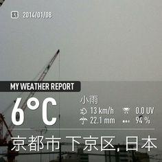 小雨が続く。。