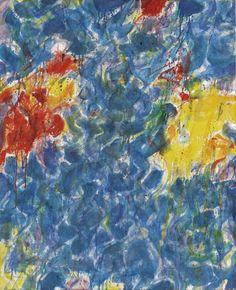 Sam Francis:  Composition (1954)