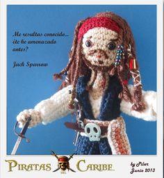 #amigurumi Jack Sparrow