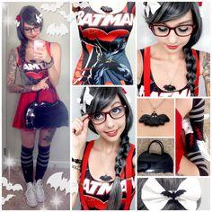 Alexa's Style Blog: Black Milk BATMAN Daily Style Post