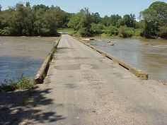 rockford, nc. the low water bridge.
