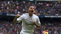 """El centrocampista colombiano James Rodríguez deja claro en una entrevista en el diario 'Marca' que """"voy a ganarme el puesto en el Real Madrid.…"""